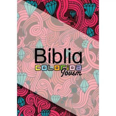 Bíblia Colorida Jovem - Capa Feminina - Sbu - 9788581581101