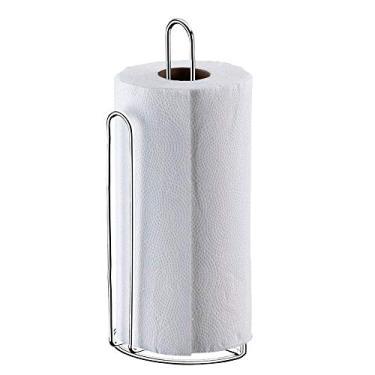 Porta Rolo Vertical para Papel Toalha Cromado Passerini