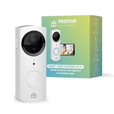 Imagem de Smart Vídeo Porteiro Wi-Fi Positivo Casa Inteligente, Indoor e Outdoor, 720p Full HD, 30 FPS, áudio bidirecional, detecção de movimentos, visão noturna, Bivolt – Compatível com Alexa