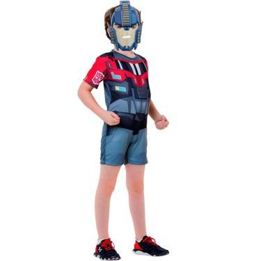 Fantasia Optimus Prime Infantil Curta Transformers - P 2 - 4