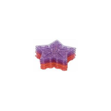 Imagem de Tapete de banho antiderrapante mini com 6 peças Rosa