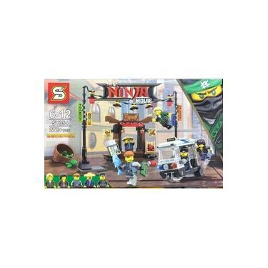 Blocos De Montar Infantil Ninjago 272 Peças Brinquedo Crianças Blocos de Montar Ninjago China mix