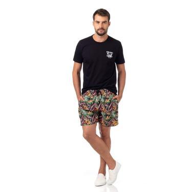 Bermuda Estampa Tropical, Colcci, Masculino, Multicolorido, P