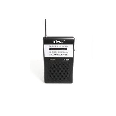 Radio de Bolso Am Fm Dourado LE-650 - Fone de ouvido