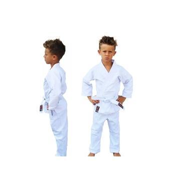 Kimono Karate Sarja Reforçado- Branco - Infantil - Naja -