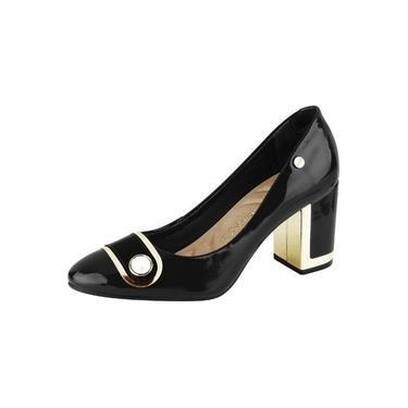 Sapato Scarpin Feminino Salto Grosso Firezzi 1811805