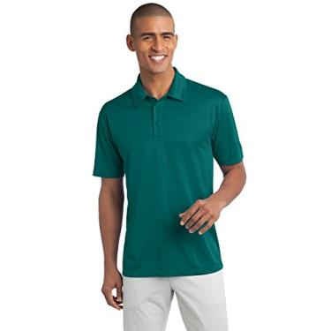 Camisa polo Port Authority Silk Touch Performance, Teal Green, 4XL