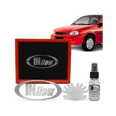 Filtro de Ar Esportivo Inflow Inbox Corsa GL GLS Wind Hatch Sedan Pick-up Classic Agile HPF1300