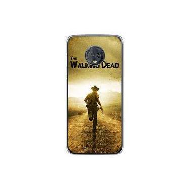 Capa para Moto G6 Plus - The Walking Dead   Rick