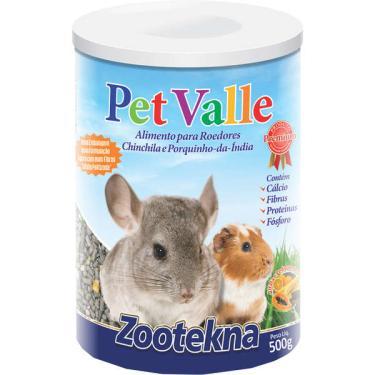 Alimento Zootekna Pet Valle para Chinchilas e Porquinhos da Índia - 500 g