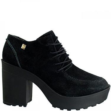 Ankle Boot Feminina Loucos e Santos Camurção L51067002 A01