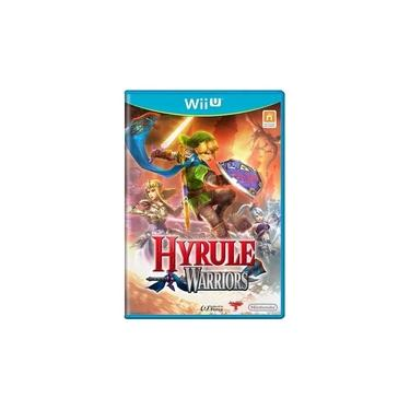 Jogo Hyrule Warriors Wiiu