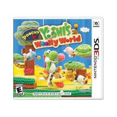 Poochy & Yoshi`S Woolly World - 3Ds