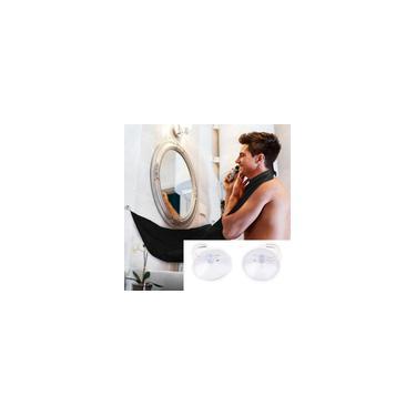 Avental de barbear de barba cor sólida masculino banheiro doméstico avental aparador de barba