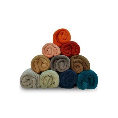Imagem de Manta Cobertor Casal 180x220cm Microfibra Soft Macia Fleece Camesa - Emcompre
