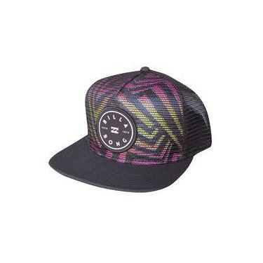 Boné Billabong Rotor Trucker Black d21d25f997b