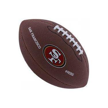 Bola de Futebol Americano Wilson NFL Team SAN FRANCISCO 49ERS 169bfe878b99a