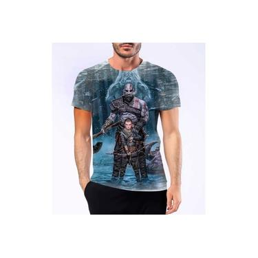 Camiseta Camisa Personalizad God Of War Kratos Jogo Ps4 Hd 6