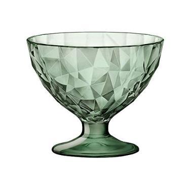 Taça para Sobremesa Bormioli Diamond Verde 220 ml - Cada