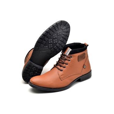 Bota Casual Touro Boots Masculina Laranja