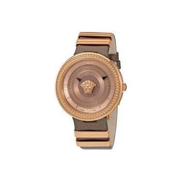 ec4480a78ef Relógio Feminino Versace Modelo VLC13 0016 - A Prova D Água   Pulseira em  Couro