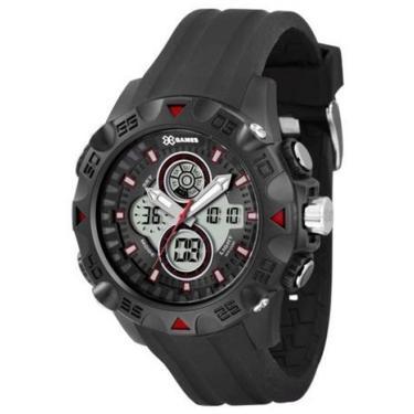 e6bfc85e60a Relógio de Pulso Masculino X-Games Analógico Digital Alarme ...
