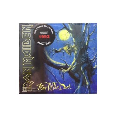 Cd Iron Maiden - Fear of the Dark 1992 The Studio Collection
