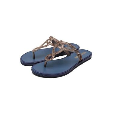 Sandália Rasteira Grendha San Martin III - Azul