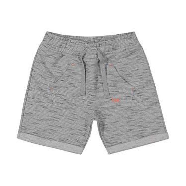 Shorts Infantil Masculino Trick Nick Cinza 3