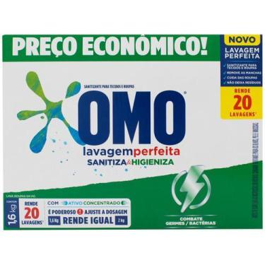Imagem de Sabão Em Pó Omo Lavagem Perfeita - Sanitiza E Higieniza Concentrado 1,