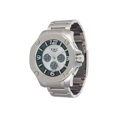 f02304af366 Relógio Masculino EWC Analógico Moderno EMT14027-3