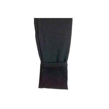 Calça legging plus size peluciada térmica suplex Corrente marinha ref. 04.111