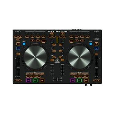 Controladora Behringer Cmd Studio 4A - Controladora Dj Console De 4 Decks E Interface De Áudio De 4 Canais