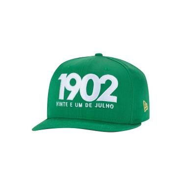 Boné Aba Reta do Fluminense New Era 950 - Snapback - Adulto New Era Unissex