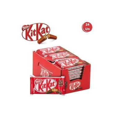 Kit Kat Nestlé Chocolate Clássico Ao Leite 24 Unidades