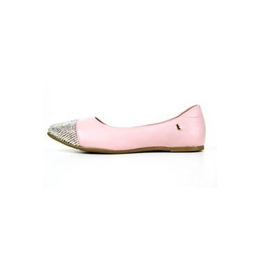 Sapato Inf Feminino Bibi Slim Flat Couro Sweet 991057
