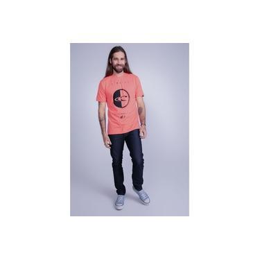 Camiseta Oneill Estampada Chaos Laranja