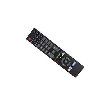 Controle remoto de substituição HCDZ para Magnavox 50MTV335WF7 50MTV335W/F7 50MV336X 50MV336X/F7 50MV336X/F7B 1080p Smart LED LCD HDTV TV