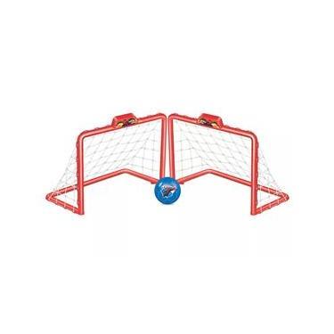 Imagem de Trave Infantil - Chute a Gol Homem Aranha - Vermelho - Líder