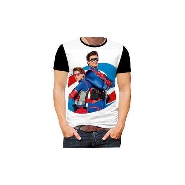 Camiseta Camisa Henry Danger Kid Danger Séries Filmes Hd 01