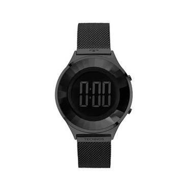 1c4c284a57b0f Relógio Feminino Technos Digital BJ3572AB 4P - Preto