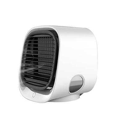 Imagem de Chibao Mini Ar Condicionado Portátil Ar Condicionado Super Silencioso Mini Ar Condicionado Ventilador de Ar Condicionado para Casa Escritório Carro Mesa Quarto Ar Condicionado Portátil