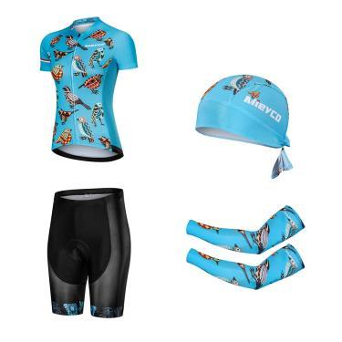 Mieyco conjunto profissional para ciclismo feminino, roupa de corrida para bicicleta mtb, camisa em 237307989