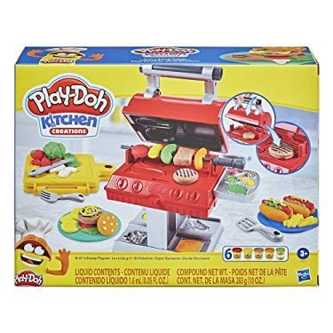 Imagem de Conjunto Massa de Modelar Play-Doh Dia de Churrasco, com 6 potes de massinha - F0652 - Hasbro