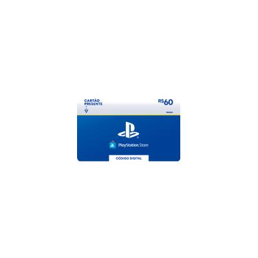 Gift Card Digital Sony Playstation R$ 60 Exclusivo Brasil