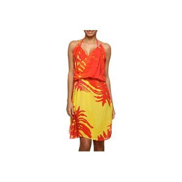 Vestido Wrap Clube Bossa Rayon Curto