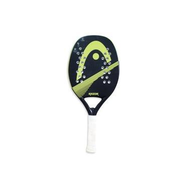 Raquete de Beach Tennis Head Razor Preta e Limão