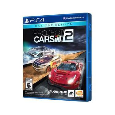 Jogo Project Cars 2 Edição De Lançamento Ps4