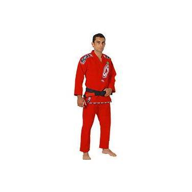 Kimono Jiu Jitsu Série Pro Vermelho