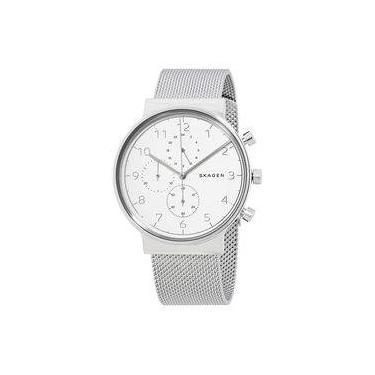 Relógio de Pulso Skagen Cronógrafo   Joalheria   Comparar preço de ... 0458a97808